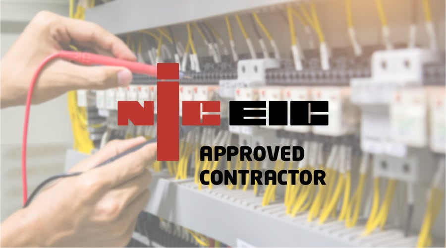 NICEIC APPROVED CONTRACTOR IN derby
